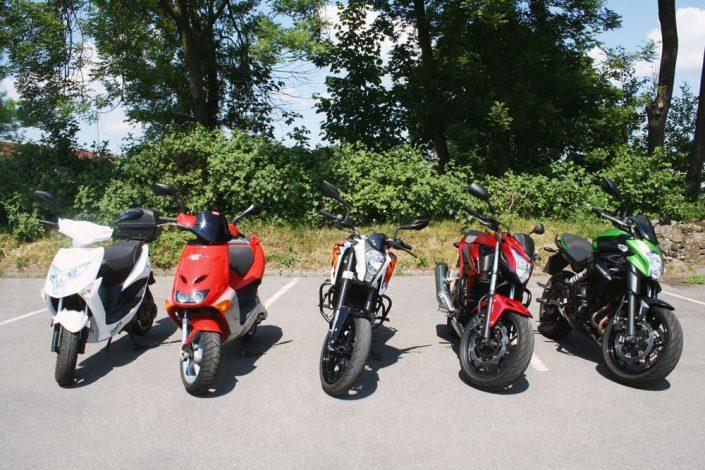 Fahrschule Schüte | Motorräder